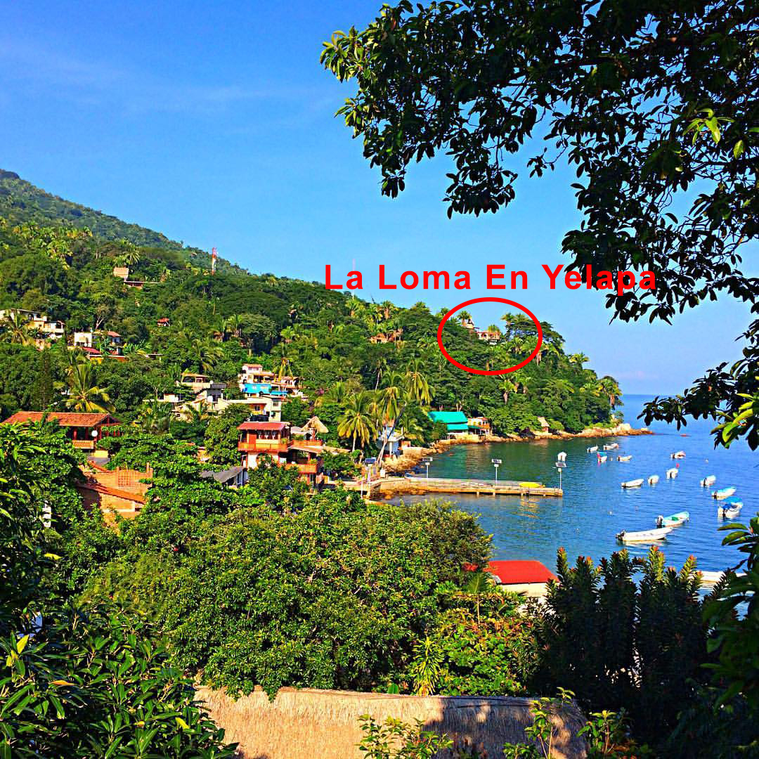 La Loma on way to beach